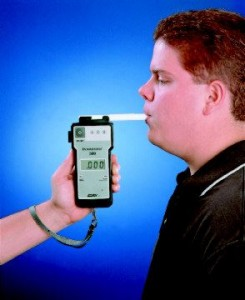 How does a breathalyzer work